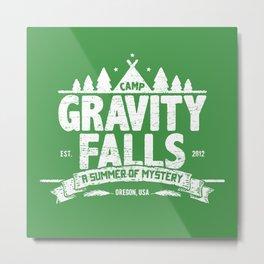 Camp Gravity Falls  Metal Print