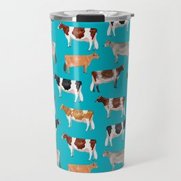 Dairy Breeds // Cerulean Travel Mug