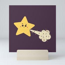 Tooting Star Mini Art Print