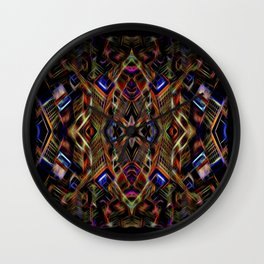 Journey To The Centre Of A Brain Fart Wall Clock