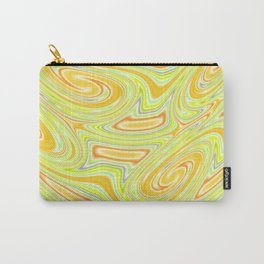 Mellow Yellow Abstract Carry-All Pouch
