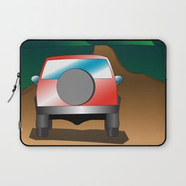 Exploring the countryside Laptop Sleeve