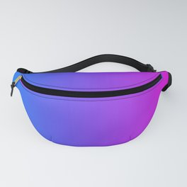 Blue To Pink Gradients Fanny Pack