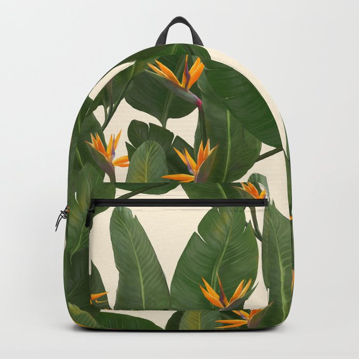 tropical floral Backpack