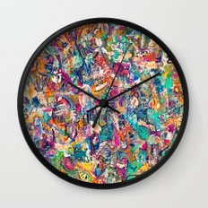 BrazenblazenOh Wall Clock