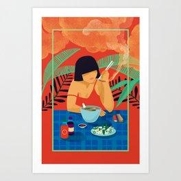Hungover Pho Real Art Print