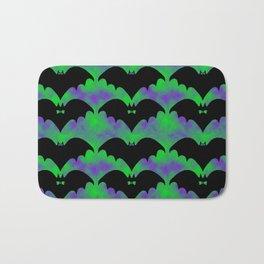 Bats And Bows Bath Mat