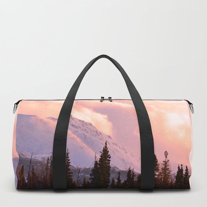 Rose Quartz Turbulence Duffle Bag