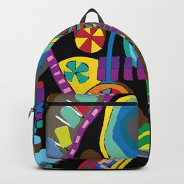 Childish Landscape Backpack