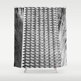 Grillage Shower Curtain