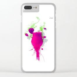 ice cream colors fashion jacob's paris Clear iPhone Case