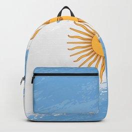 Argentina's Flag Design Backpack