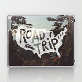 Road Trip USA - big sur Laptop & iPad Skin
