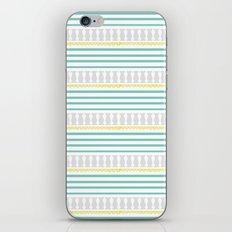 Cuckoo Stripe iPhone & iPod Skin