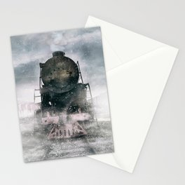 When the winter comes Stationery Cards