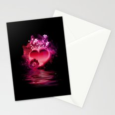 Flooding Heart Stationery Cards