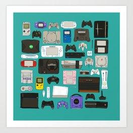 Game square Art Print
