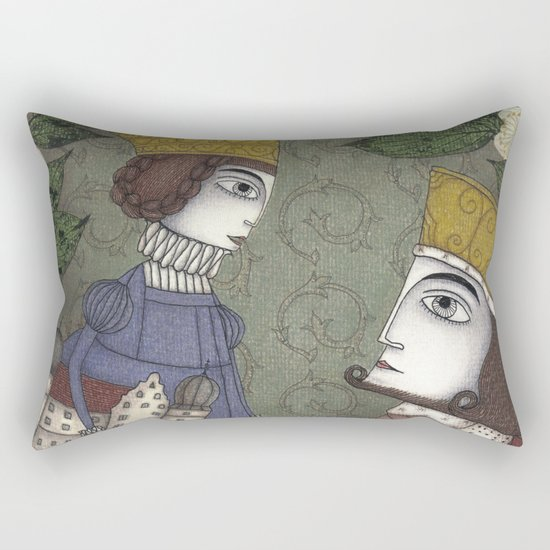 My Father, the King Rectangular Pillow