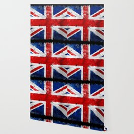 Vintage England flag Wallpaper