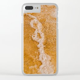 Canary Spring Runoff Clear iPhone Case