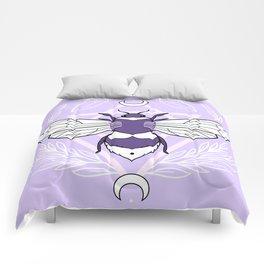 Bee Queen // Pastel Comforters