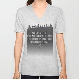 LOTR - Devin's Shirt Unisex V-Neck