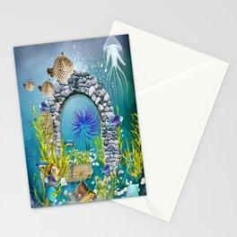 Unterwasserlandschaft Stationery Cards