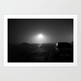 sea of fog Art Print