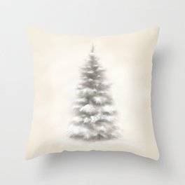 Colorado Blue Spruce Throw Pillow