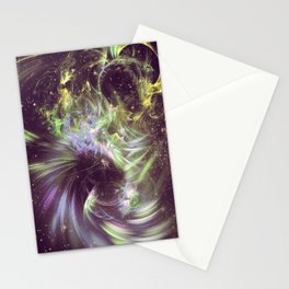Twisted Time - Black Hole Effects Stationery Cards
