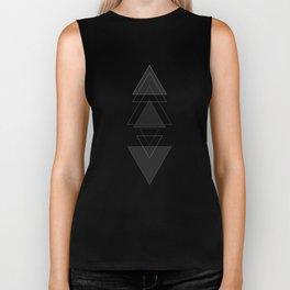 Triangles Biker Tank