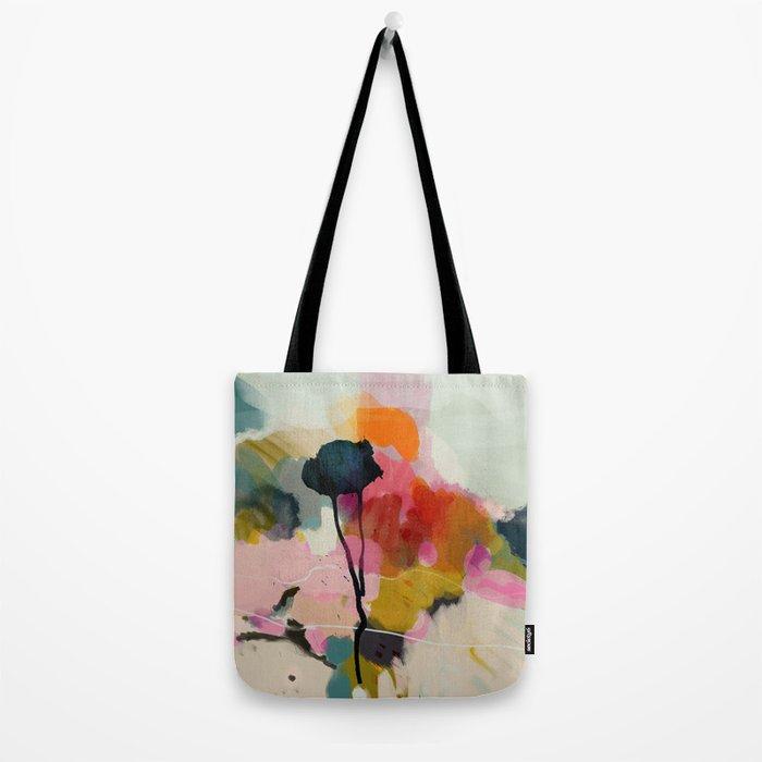 paysage abstract Tote Bag