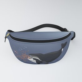 Pinocchio and the Bowhead whale Fanny Pack