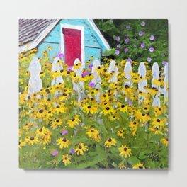 Cottage Garden Metal Print