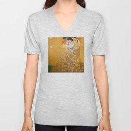 Gustav Klimt - The Woman in Gold Unisex V-Neck