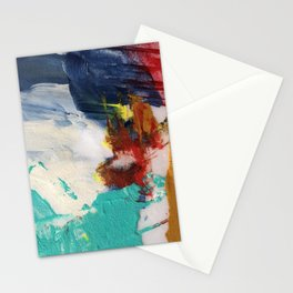 Abstract One by Nancy Smith Stationery Cards