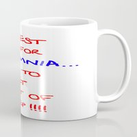 the cure Mugs featuring The best cure for... by Brian Raggatt