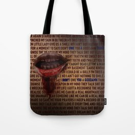 I Don't Owe You A Goddamn Thing (Nightmare) Tote Bag