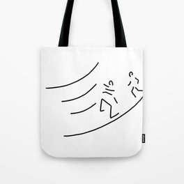hurdle-race athletics metres run Tote Bag
