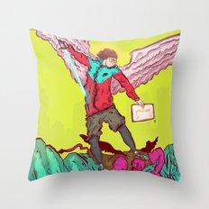Hypeangel Throw Pillow