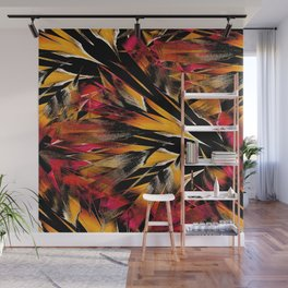 Jungle Trip (sunglow) Wall Mural