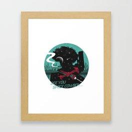 cowboy bebop logo Framed Art Print