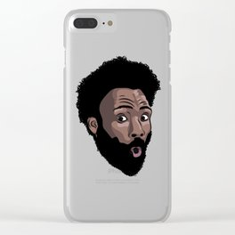 """Childish Gambino - """"This Is America"""" Clear iPhone Case"""