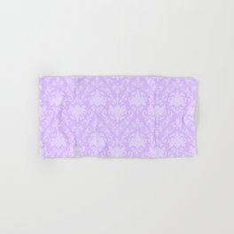 Lavender Damask Hand & Bath Towel