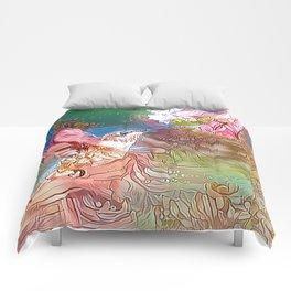 Fairy Hummingbird Comforters