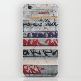 Croix Rousse stairs iPhone Skin