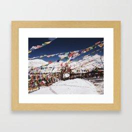 Prayers in the Wind Framed Art Print