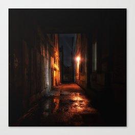 Whitechapel Alley Canvas Print