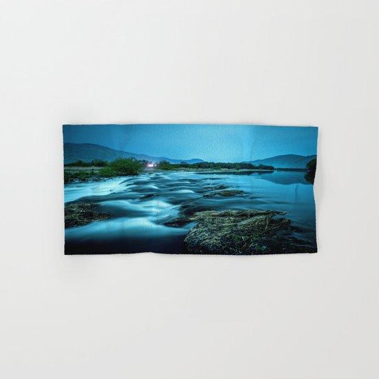 tranquil waterfall Hand & Bath Towel