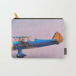 Busy Boy | Blue Carry-All Pouch
